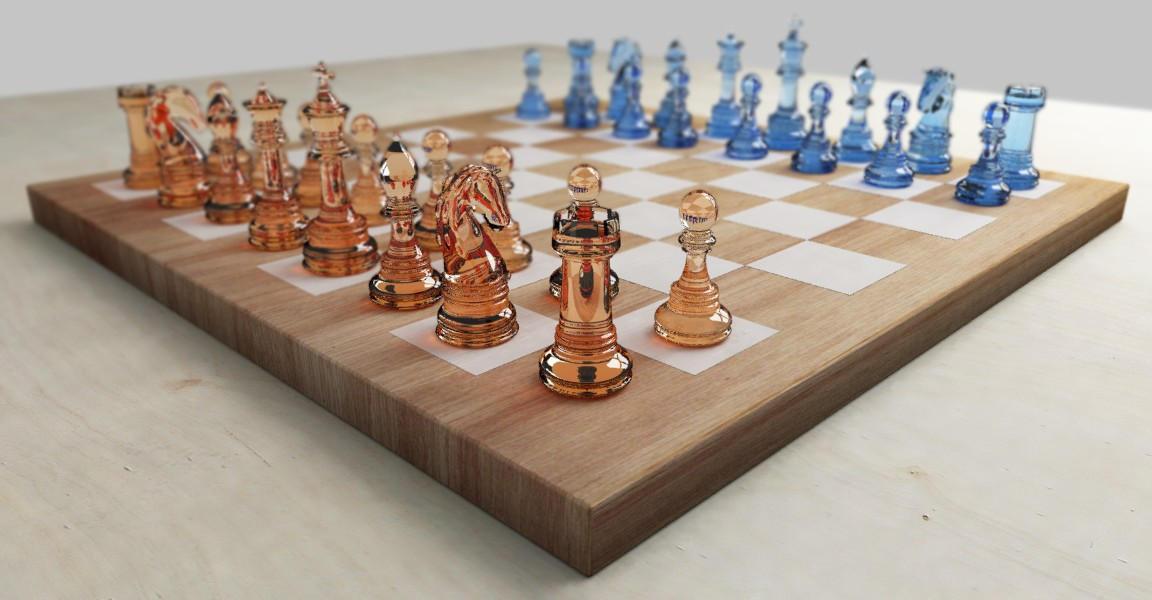 Glass Chess Set By Sanderwit On Deviantart