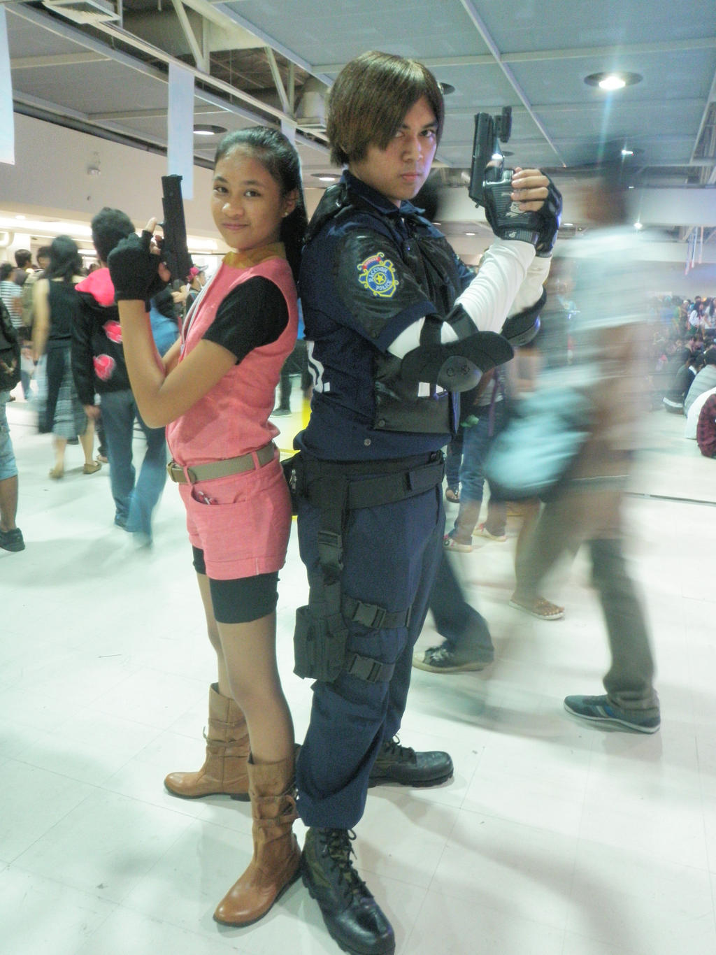 leon kennedy and claire redfield relationship advice