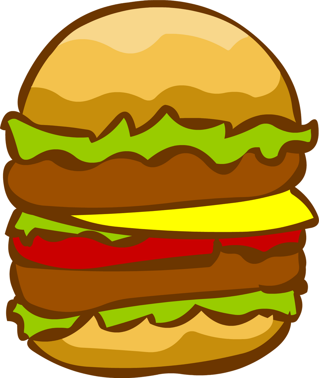 double burger by rottenpot on deviantart bbq grill clipart free bbq clipart free download