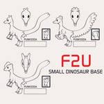 F2U Dinosaur Bases