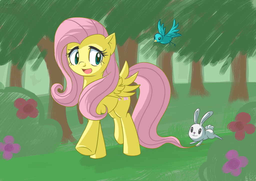Fluttershy by Nac0n