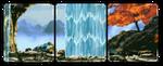 (free) decor divider ~ waterfall 2 by corgii-skies