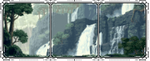 (free) decor divider ~ waterfall 1 by corgii-skies