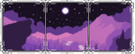 (free) decor divider ~ night sky by corgii-skies