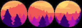 (free) decor divider ~ sunset 2