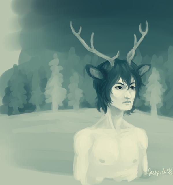 mule deer redux by FastPuck