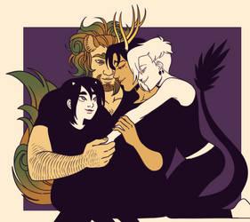 dragon husbandos by FastPuck