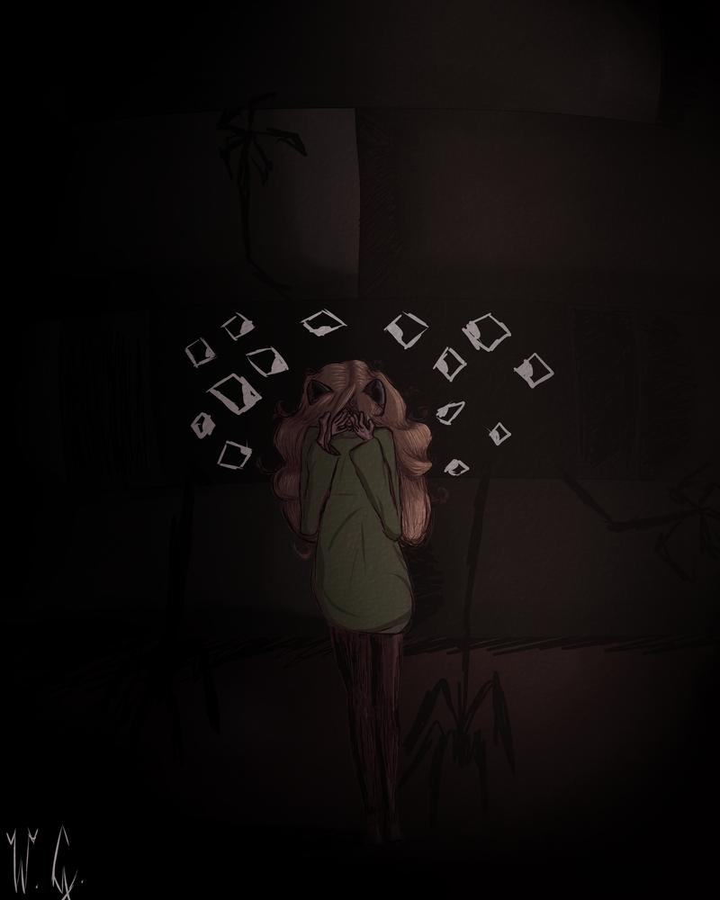 [Art Trade] Creepy Oshi by Gorawe114