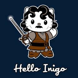 Hello Inigo Shirt design by SingapuraStudio