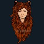 Shapeshifter Fox Shirt Design by SingapuraStudio