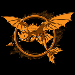 Dragon Games Shirt Design