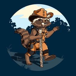 Ranger Rocket Shirt Design by SingapuraStudio
