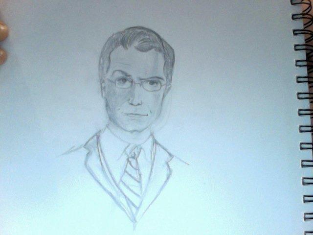 Stephen Colbert by maddiemac