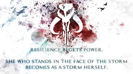 Resilience Begets Power (Wallpaper) by Vhetin1138