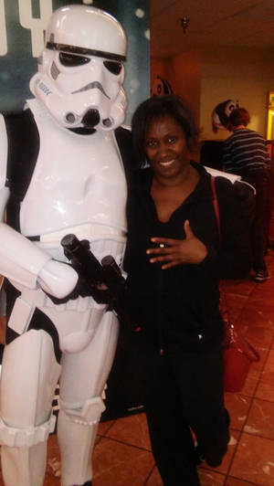 Hanging Out With Stormtrooper.......