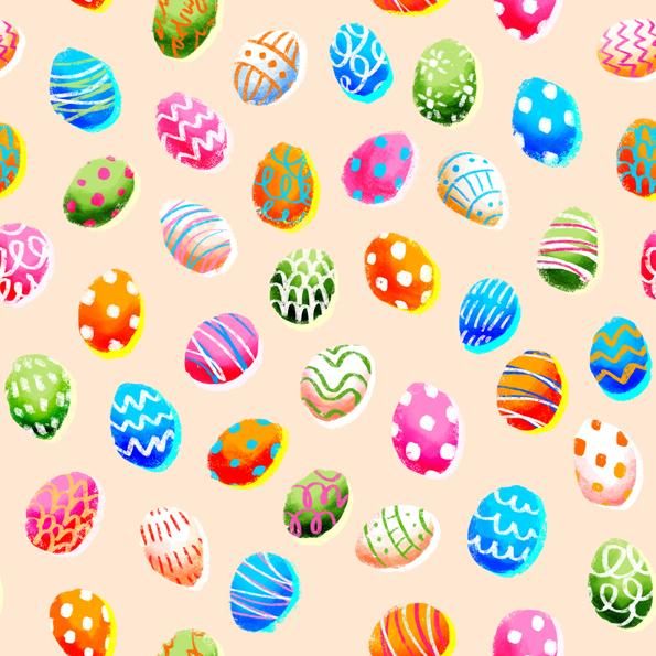 Easter Egg Pattern 2013 by artemiscrow on DeviantArt