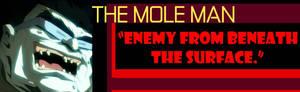 Profile: The Mole Man