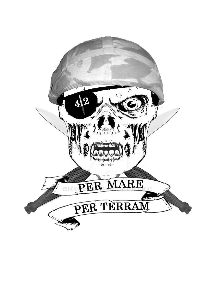 royal marines 42 cdo 2 helmet by bootneck42 on deviantart. Black Bedroom Furniture Sets. Home Design Ideas