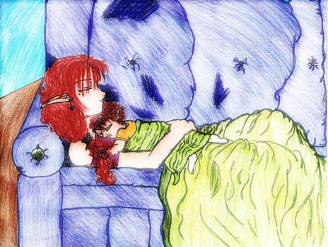 +Isamu  Drake sleeping color+