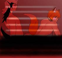 Morning Heat: Keaton X Kaden Censored by KingTyphlosion