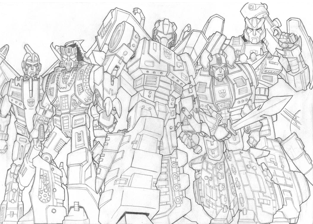 Dinobot Transformer Free Coloring Pages