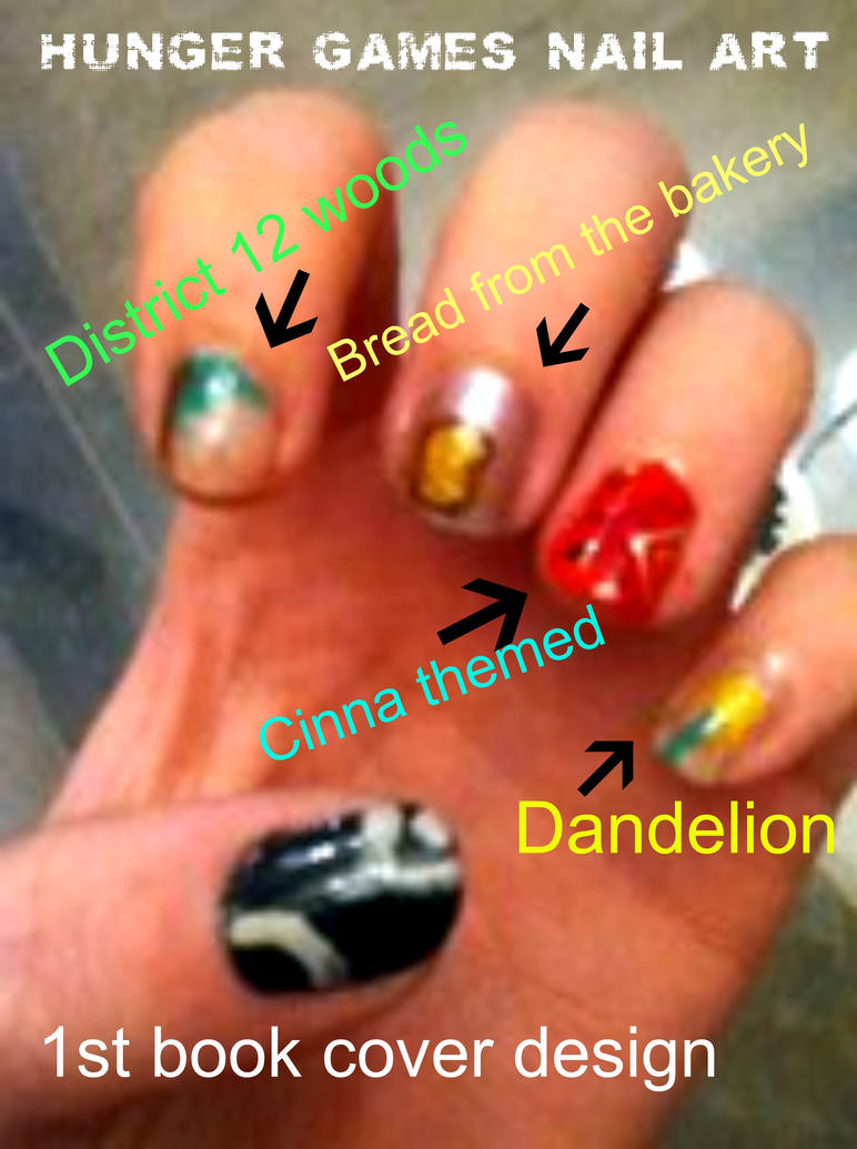 Hunger Games Nail Art by Ninja-Saurus ... - Hunger Games Nail Art By Ninja-Saurus On DeviantArt