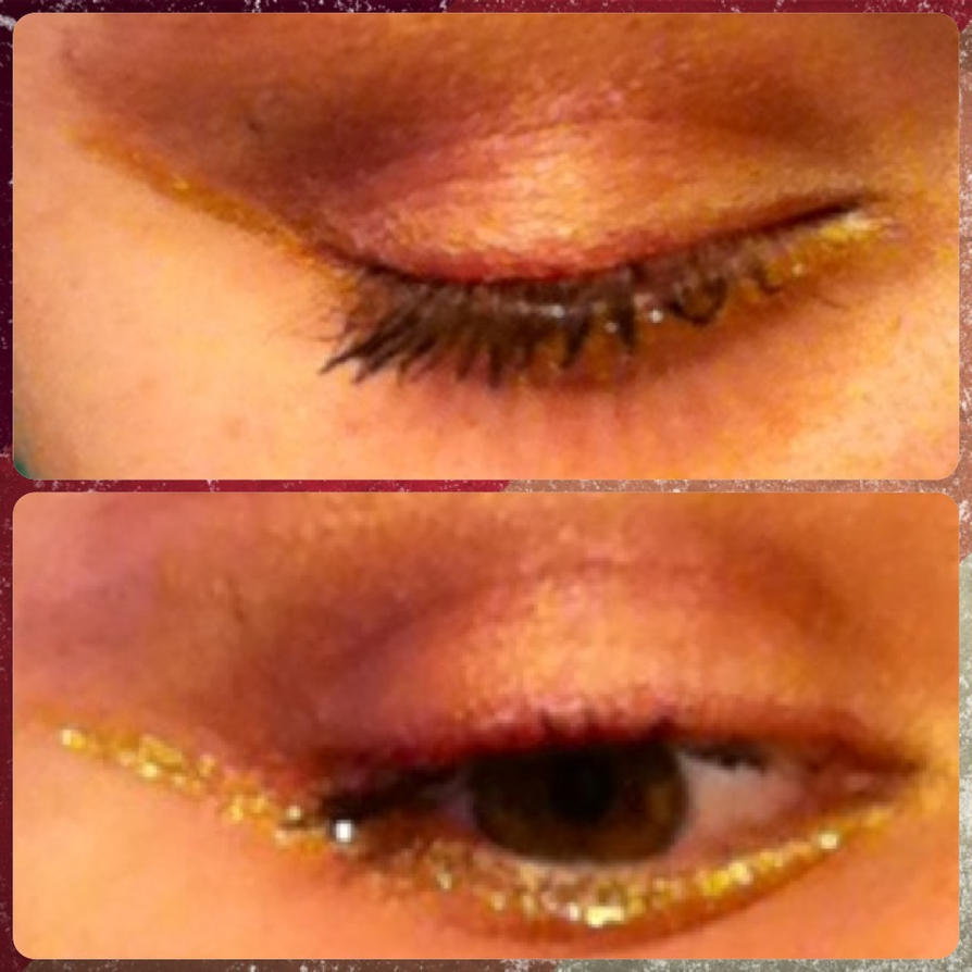 Dance Central Makeup Angel Eye Makeup By Ninja Saurus On Deviantart