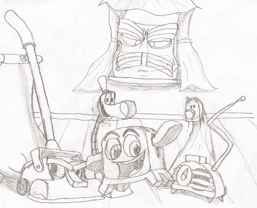 brave little toaster coloring pages - photo#35