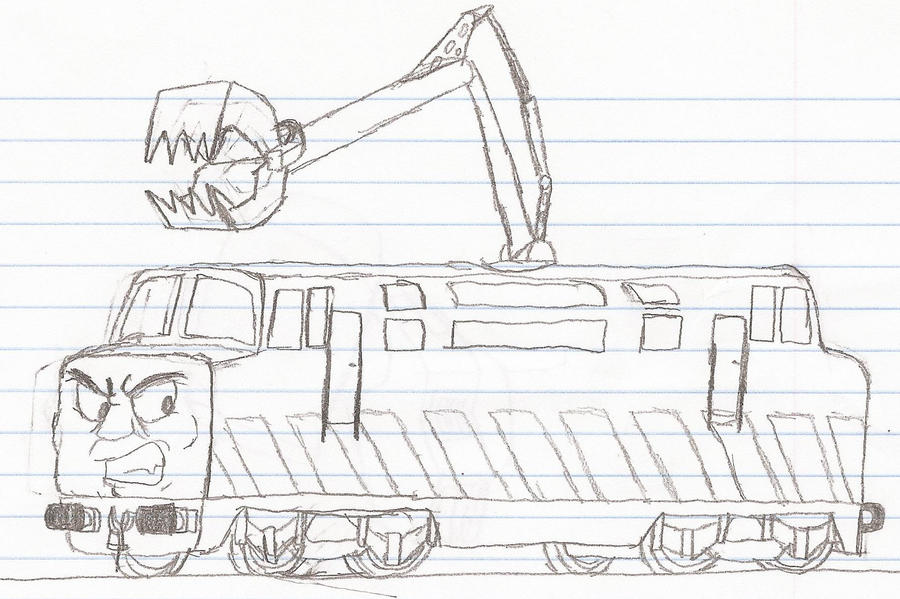 diesel 10 coloring pages - photo#19