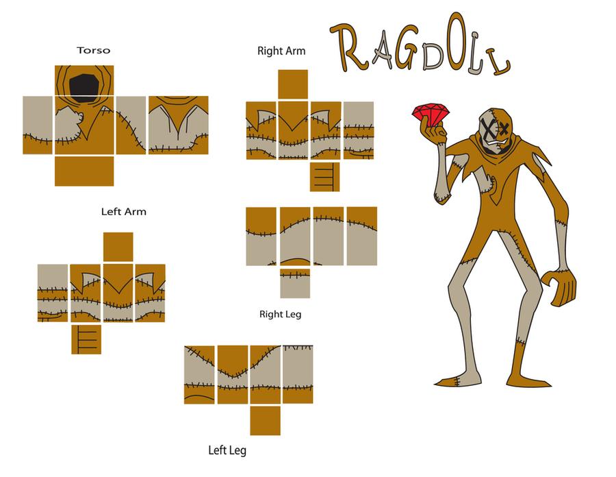 ragdoll roblox template by blockwave on deviantart. Black Bedroom Furniture Sets. Home Design Ideas