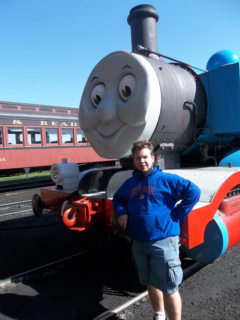 Thomas and me by Blockwave