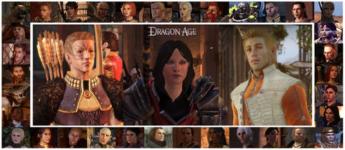 Dragon Age - Heroes and Companions