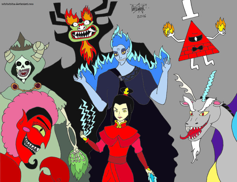 Cartoon Crossover Scream By Brandonale Deviantart