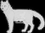 Feline lineart