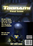 Toonami Issue Cover