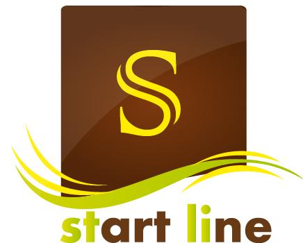 start line logo by walaa-arts