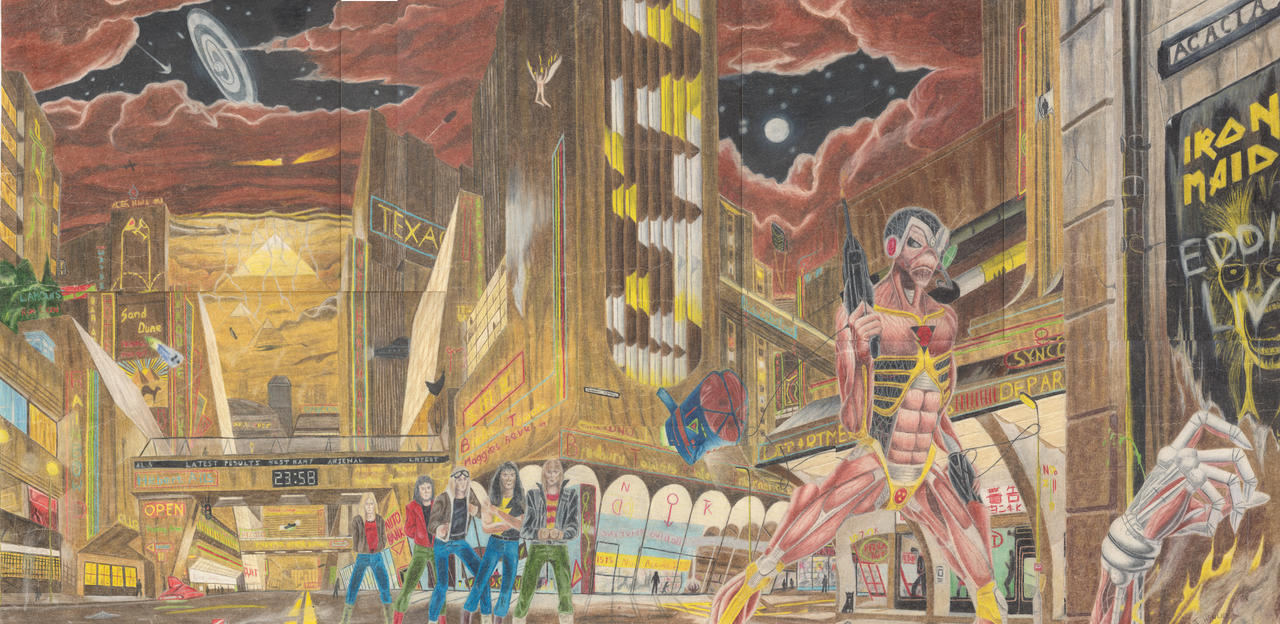 iron maiden somwhere in time by strator on deviantart