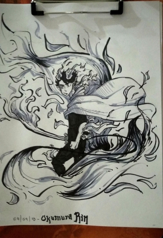 Okumura Rin by Jellyfish12345