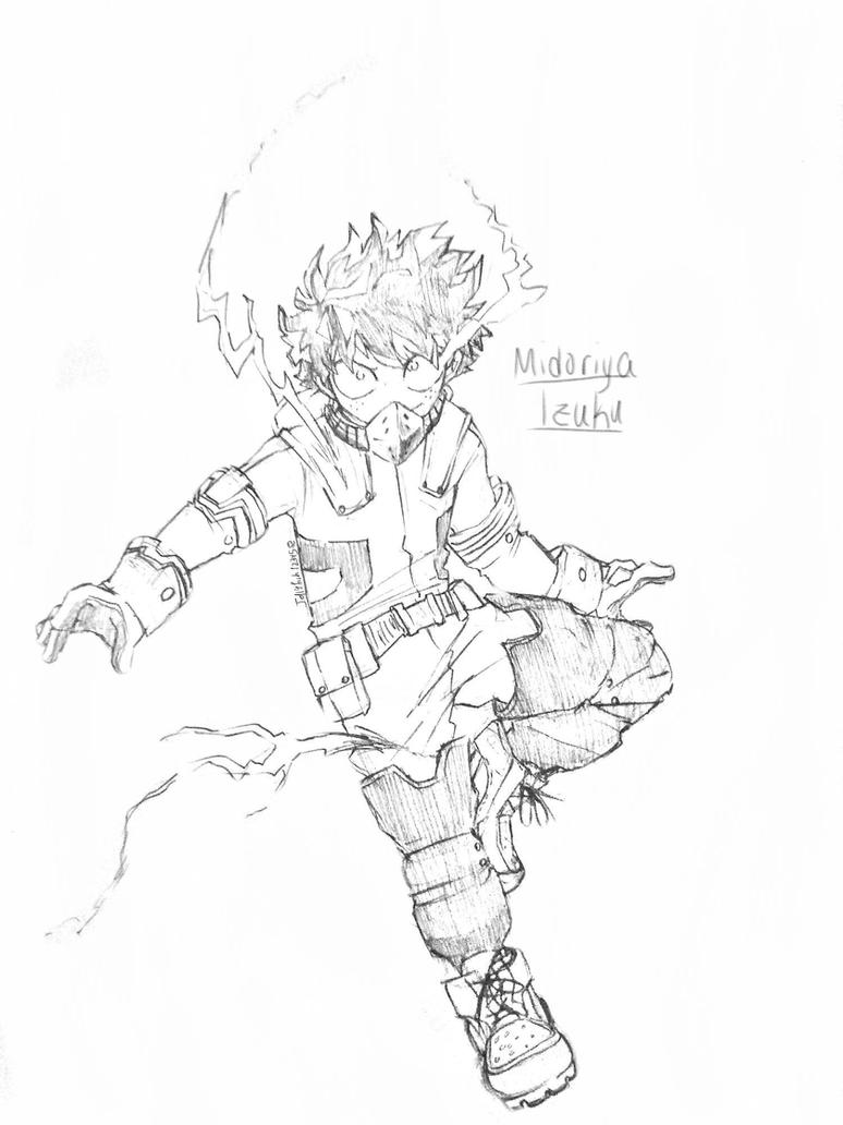 Midoriya Izuku (Deku) by Jellyfish12345