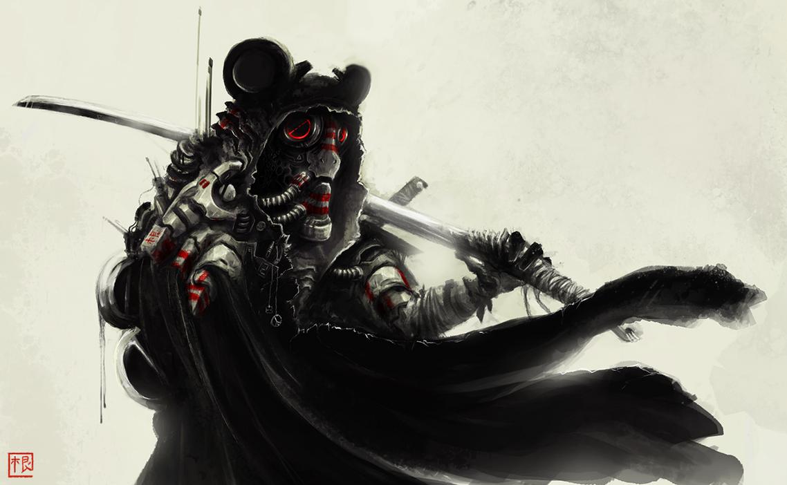 Panda Ninja Samurai WW2 Veteran Cyborg - PNSWW2VC by