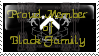 Black Family Stamp by Erevia
