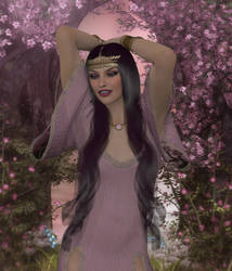 The Muses: Thalia by Erevia