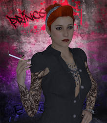 Cover Girl: Tattooed Pinup