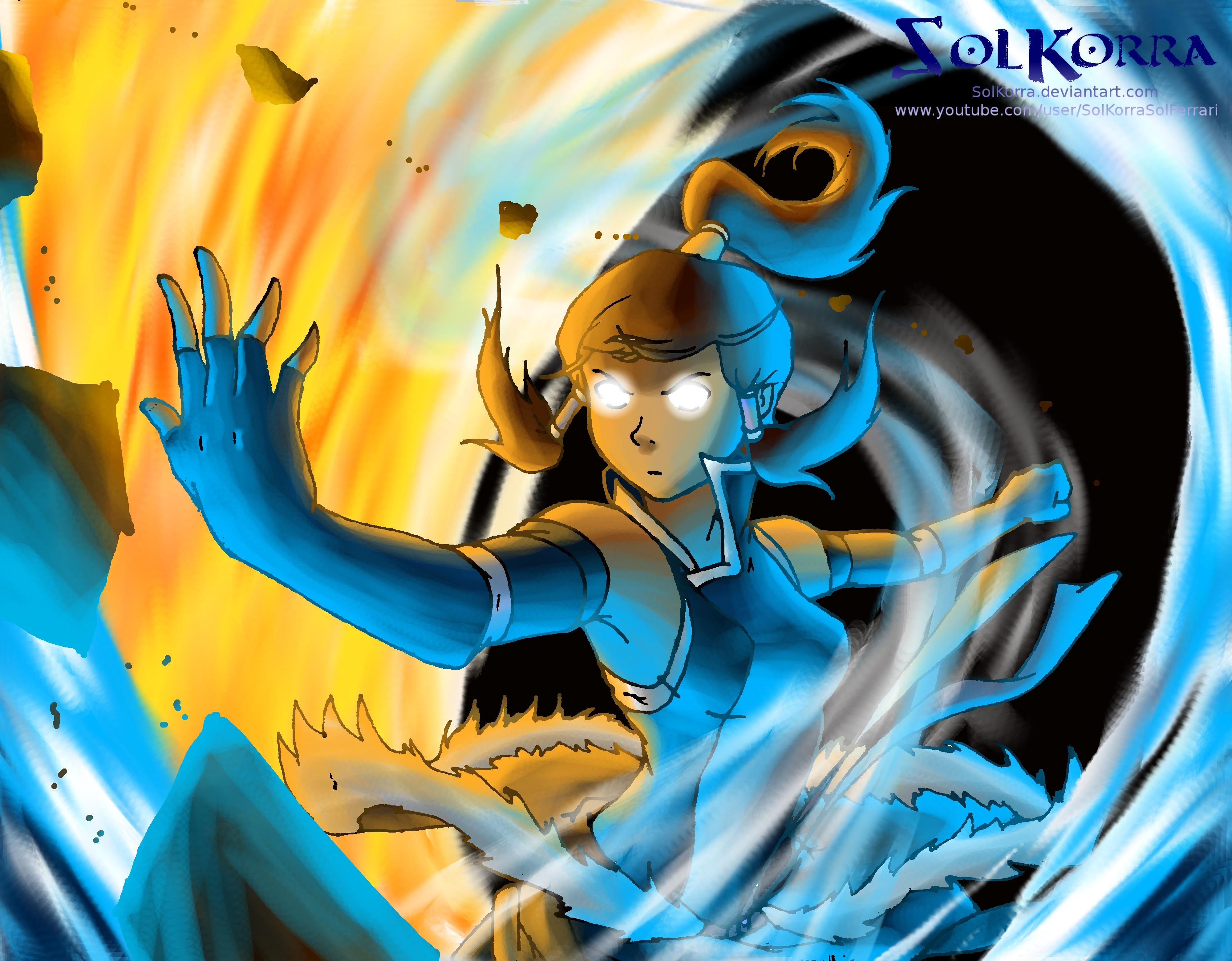 Korra's Avatar State Season 2 by SolKorra by SolKorra