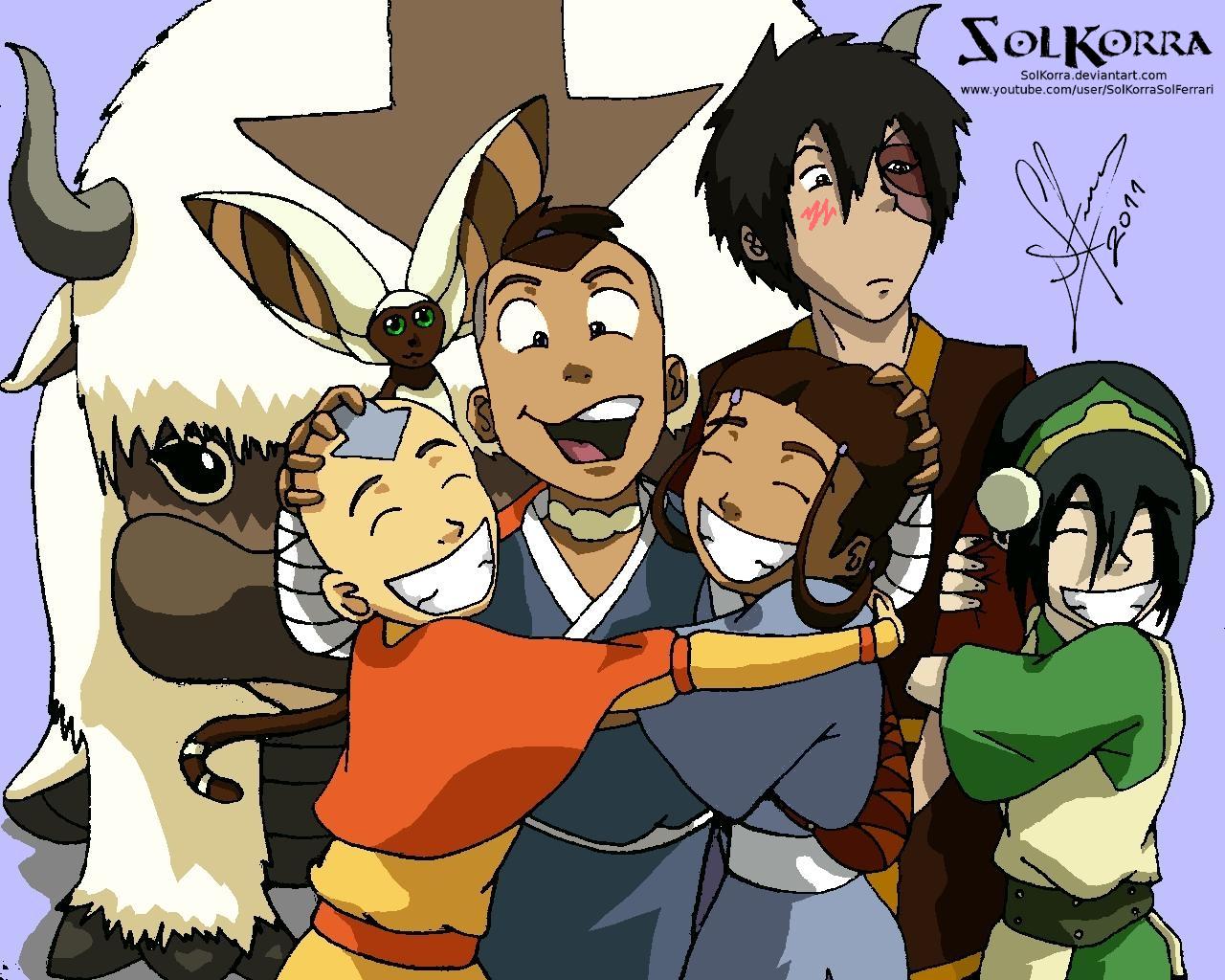 Team Avatar 2011 by SolKorra on DeviantArt: solkorra.deviantart.com/art/Team-Avatar-2011-343479327