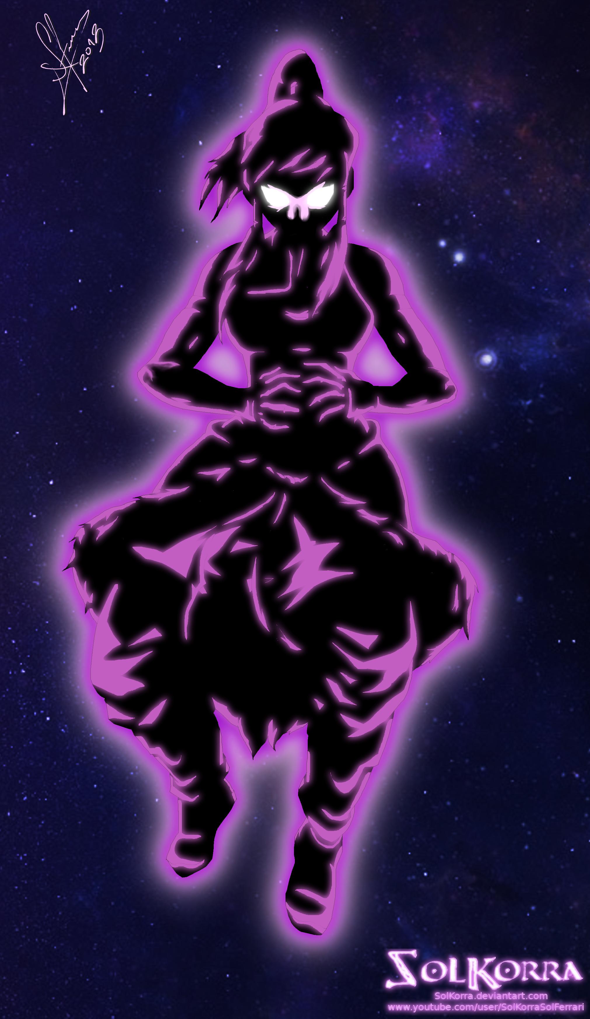 Korra Cosmic Energy by SolKorra
