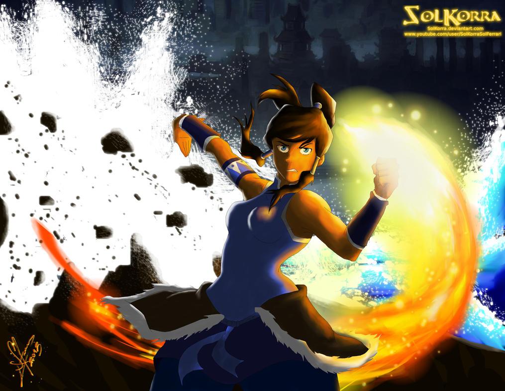Korra The Avatar by SolKorra