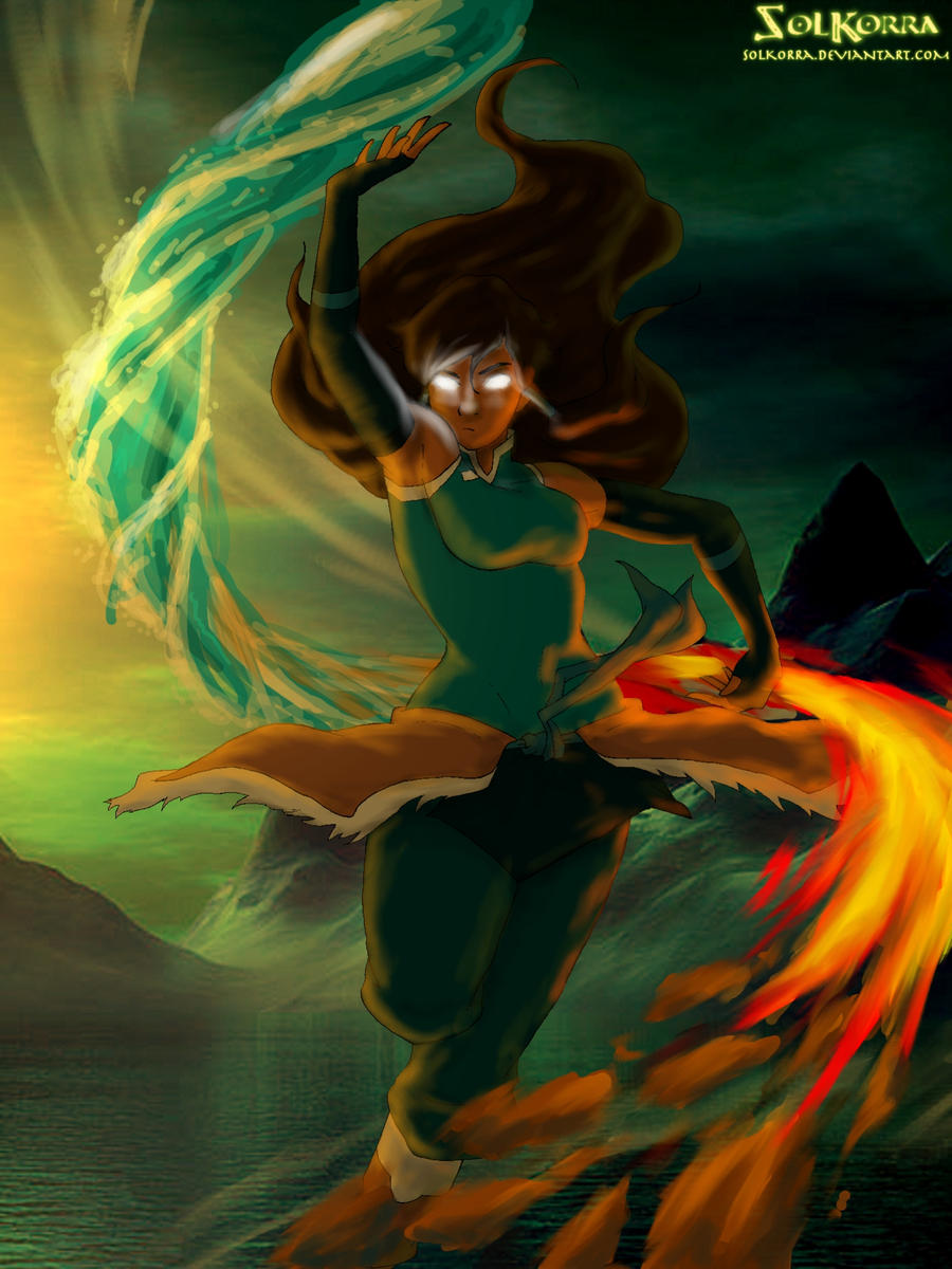 Korra Avatar State by SolKorra on DeviantArt  Aang