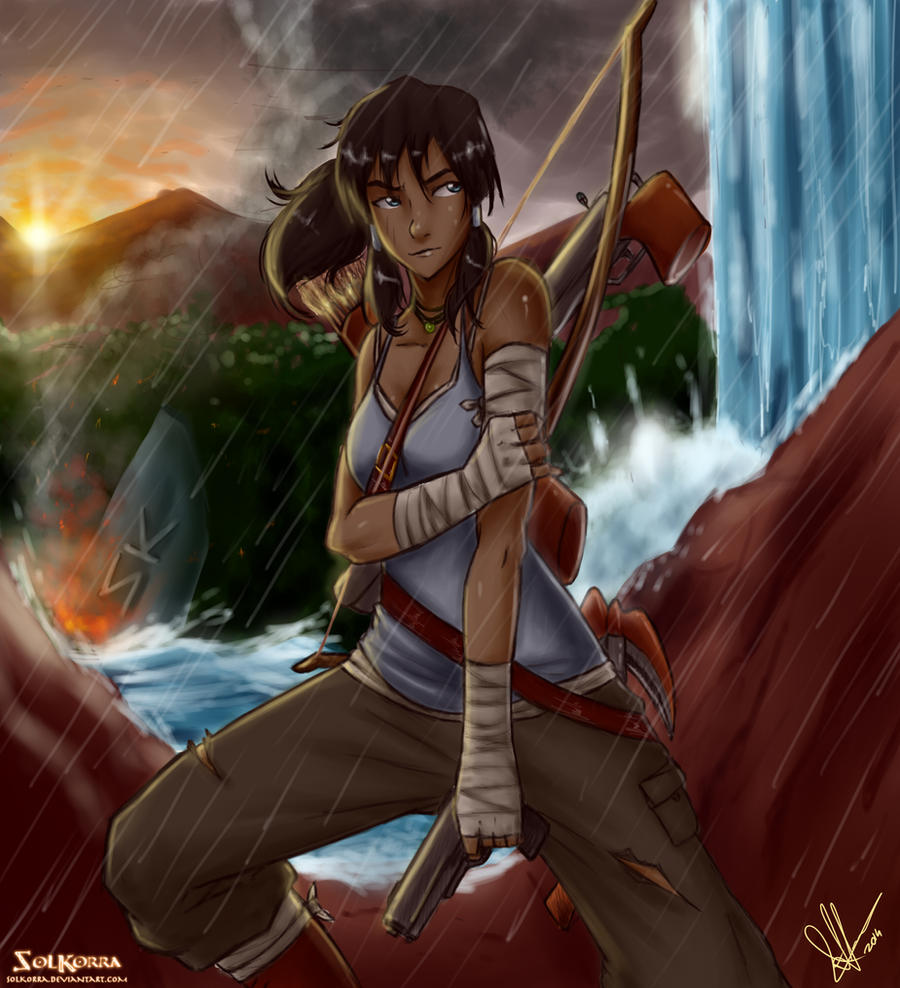 Tomb Raider Reborn with Korra by SolKorra