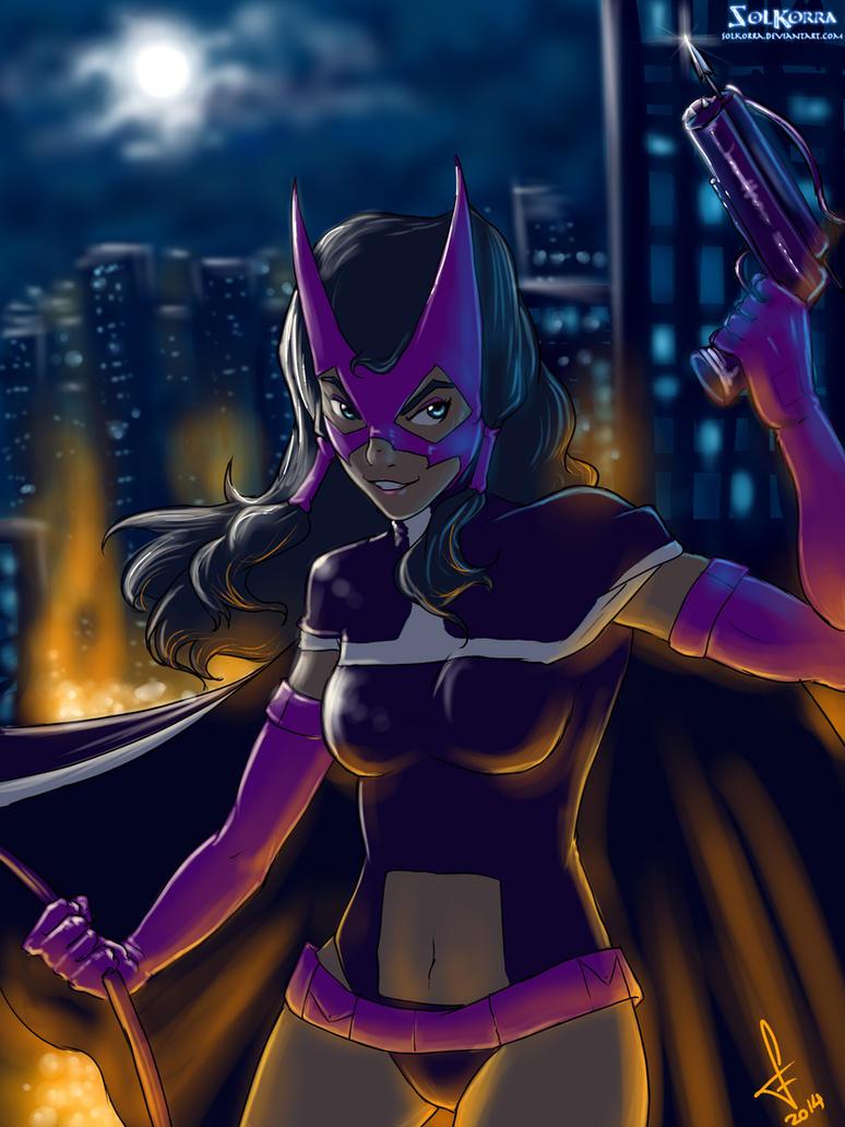 Huntress Korra by SolKorra
